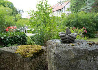 Erwachsenenhospiz – im Garten