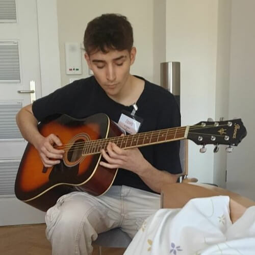 Der Mann mit der Gitarre